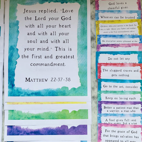 Scripture Memorization Kids