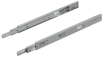 single extension, load-bearing capacity up to 45 kg, steel, side mounting Installation length 303 mm