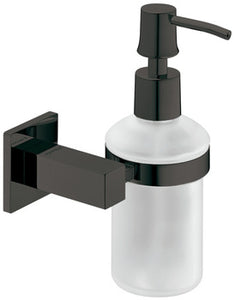 Soap dispenser, With satin frosted glass