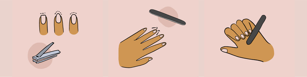 How to do a manicure - now cut and file