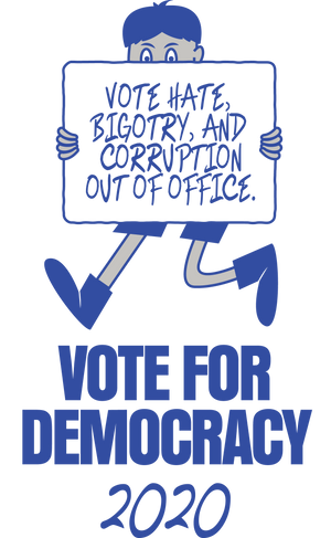 Vote for Democracy Sweatshirt
