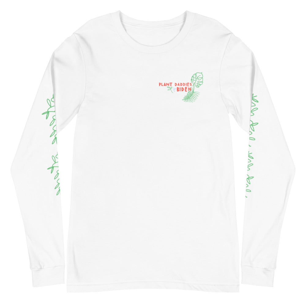 Plant Daddies for Biden Long Sleeve Tee