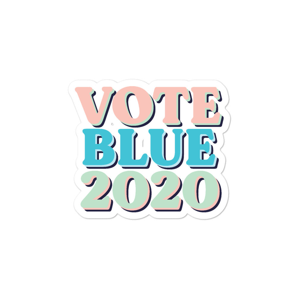 Vote Blue 2020 stickers