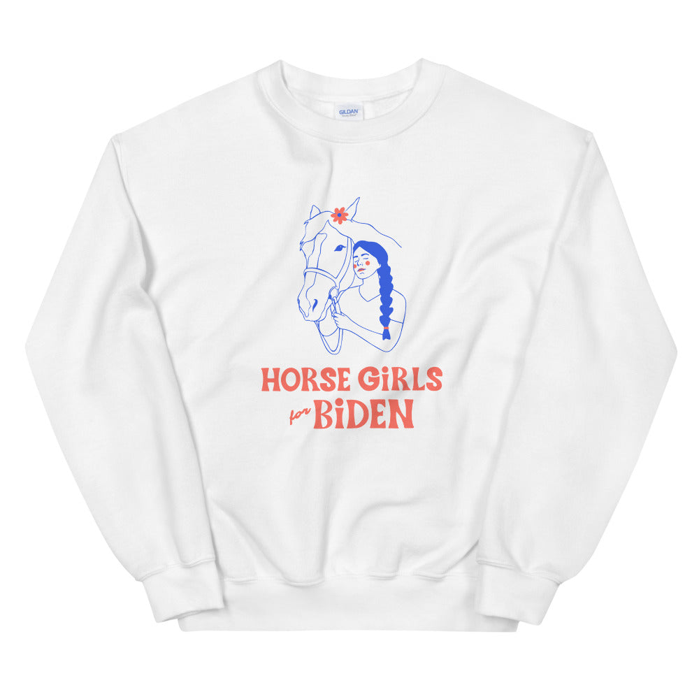 Horse Girls for Biden Sweatshirt