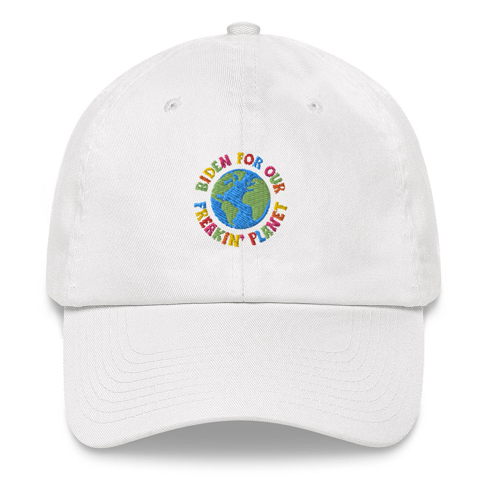 Biden for Our Freakin' Planet Dad hat