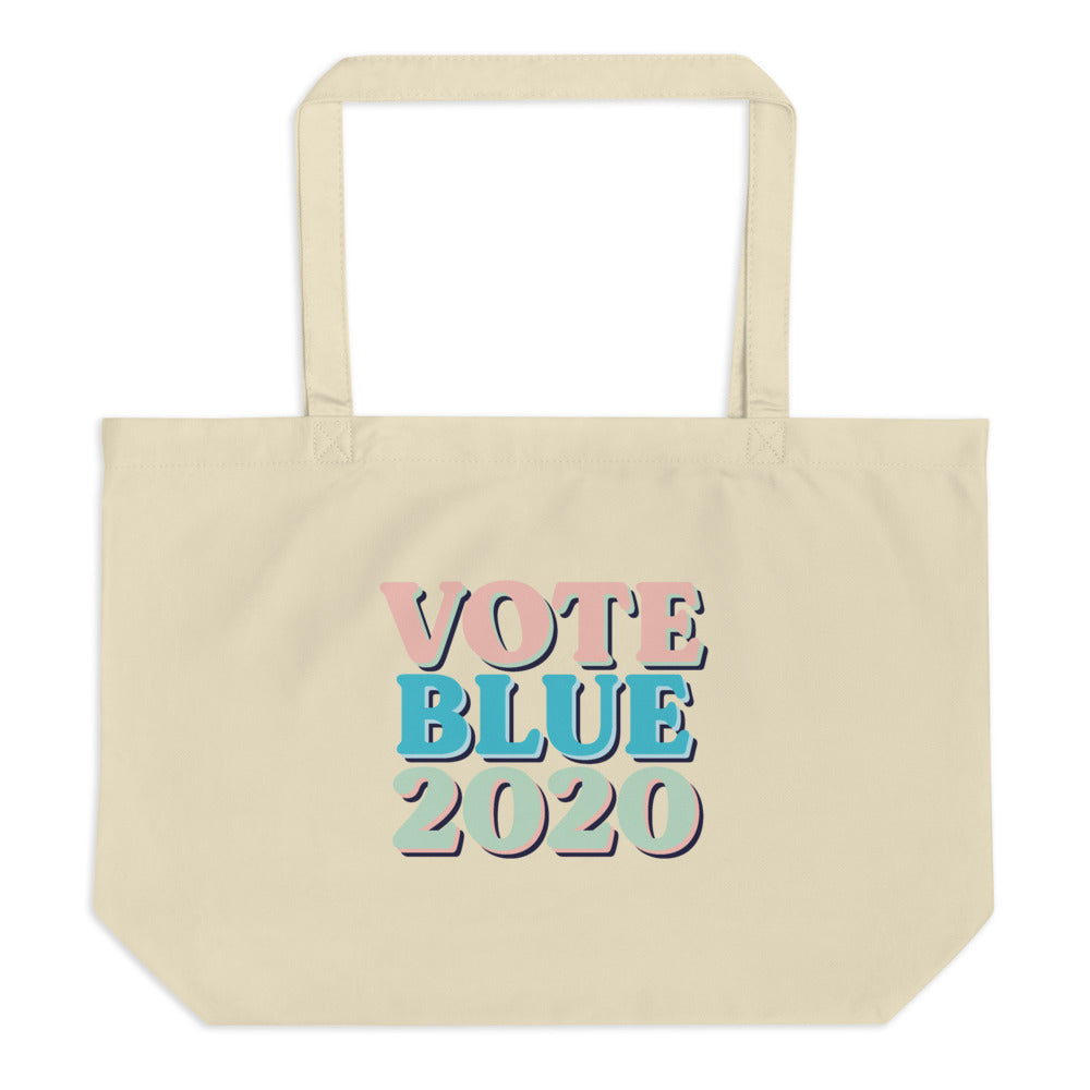 Vote Blue 2020 tote bag