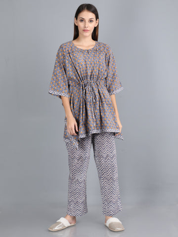Chevron Foliage - Kaftan Suits