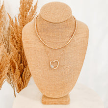 Load image into Gallery viewer, You've Got My Heart Double Necklace