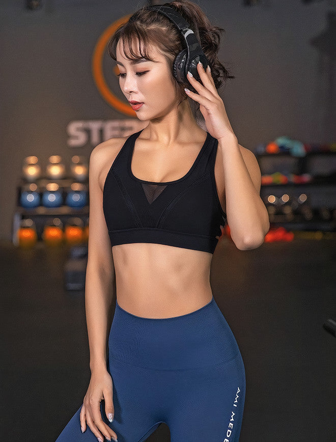 Harper: Slotted Sports Bra | Roga Yoga | Athleisure Sports Bra