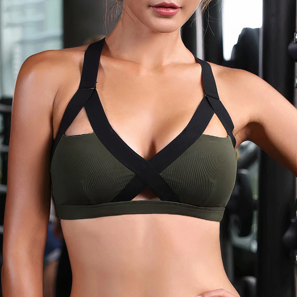 Carol: Outline Sports Bra | Roga Yoga | Athleisure Sports Bra