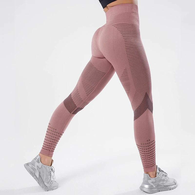 Michelle: High Waist Seamless Fitness Leggings | Roga Yoga | Athleisure Leggings