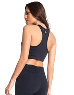 Load image into Gallery viewer, Willa: Mid-Split Sports Bra | Roga Yoga | Athleisure Sports Bra
