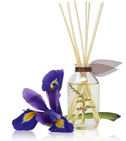 LOVSPA Cashmere Woods Reed Diffuser Oil Set with Amber Mimosa, Vanilla Musk & Apricot Nectar, Made in The USA