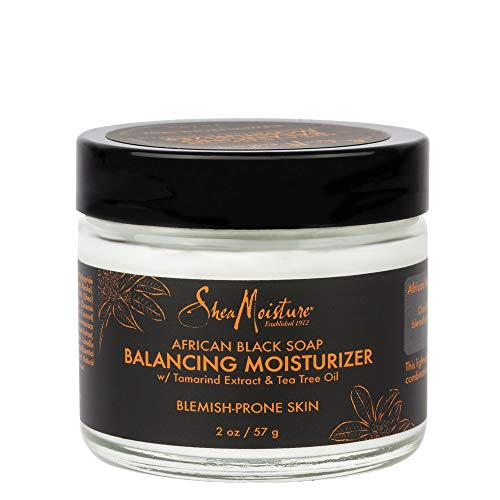 SheaMoisture Balancing Moisturizer for Dry Skin African Black Soap with Shea Butter 2 oz, Multicolor