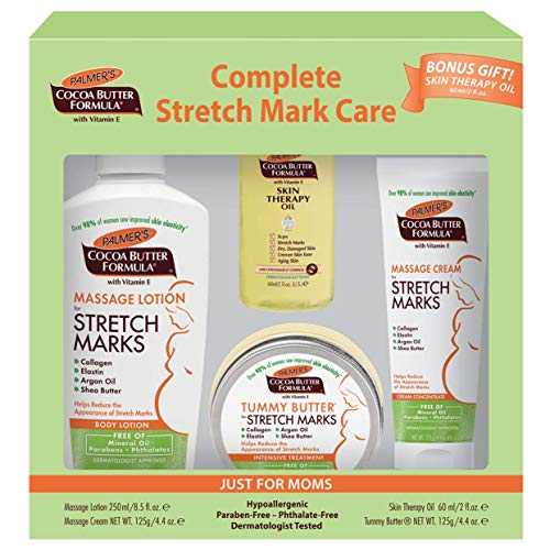 Palmer's Cocoa Butter Formula Complete Stretch Mark & Pregnancy Skin Care Kit