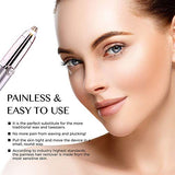 Eyebrow Hair Remover, Vogcrest Painless Eyebrow Trimmer for Women, Portable Eyebrow Hair Removal Eyebrow Razor with Light.