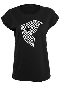 Camiseta Famous Check black