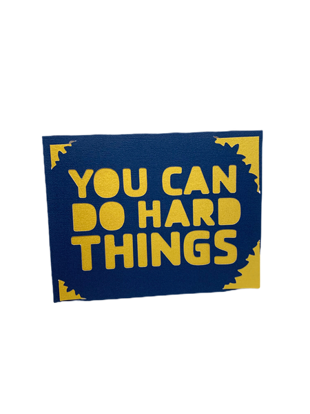 Hard Things card
