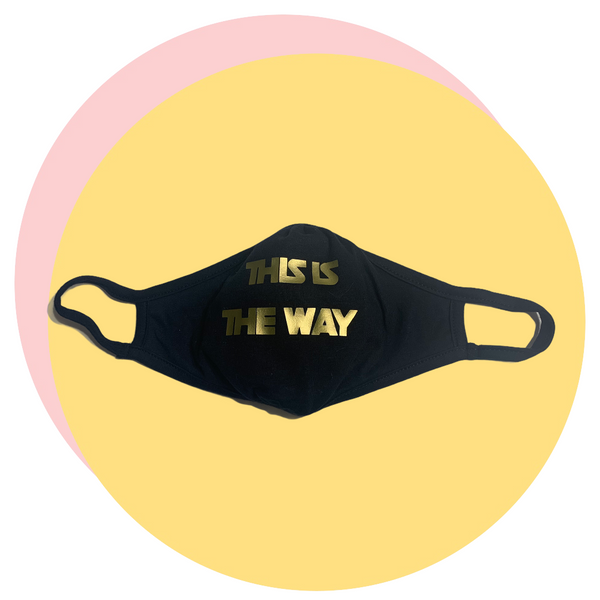 This is the Way mask