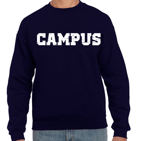 CAMPUS Unisex Crewneck Sweater