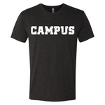 CAMPUS Triblend Tee Shirt [Work Hard Play Hard]