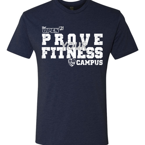 OPEN'21 PROVE YOUR FITNESS Unisex Tee