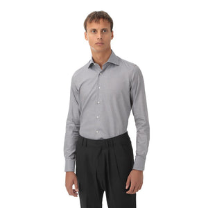 CAMICIA BUSINESS SEASONAL GIZA MICROFANTASIA