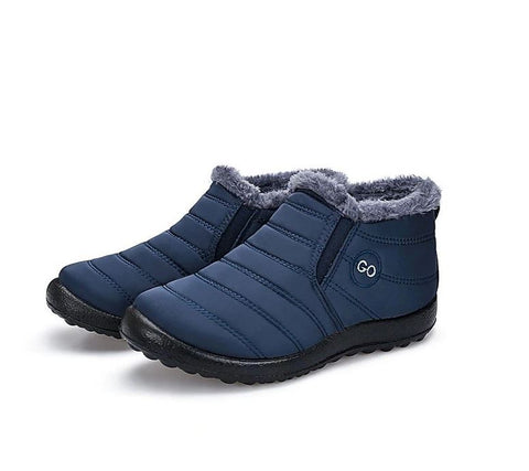 Waterproof Fur Lined Snow Short Boots. For Women
