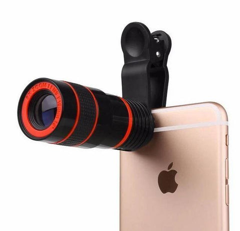Magic 12x Zoom Telescopic Lens (Compatible With All Phones) - Club Topnotch