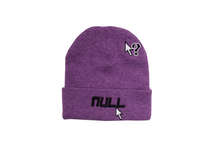 "Load image into Gallery viewer, ""Brain Buffer"" Beanie - Hermit Purple"