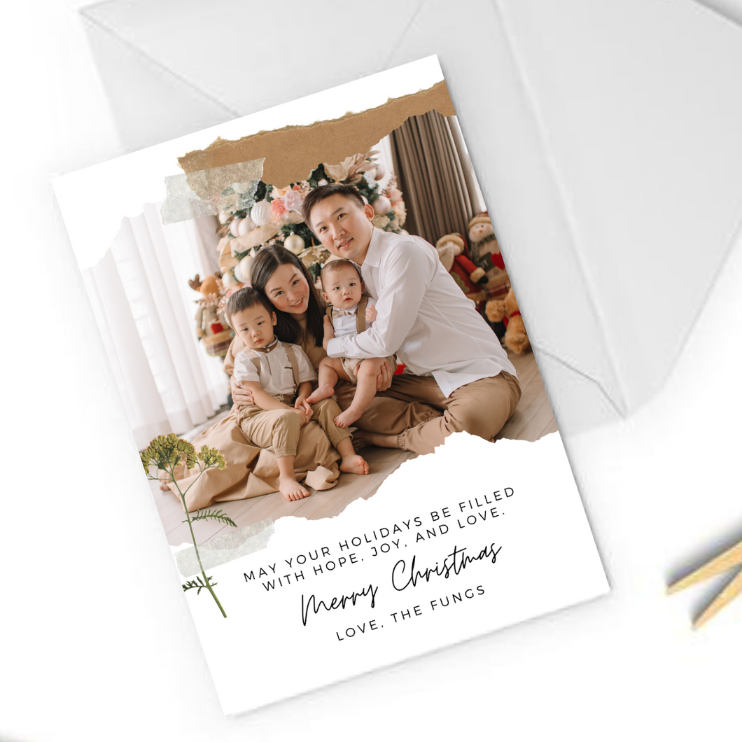 Copy of Portrait Christmas Card 20-05