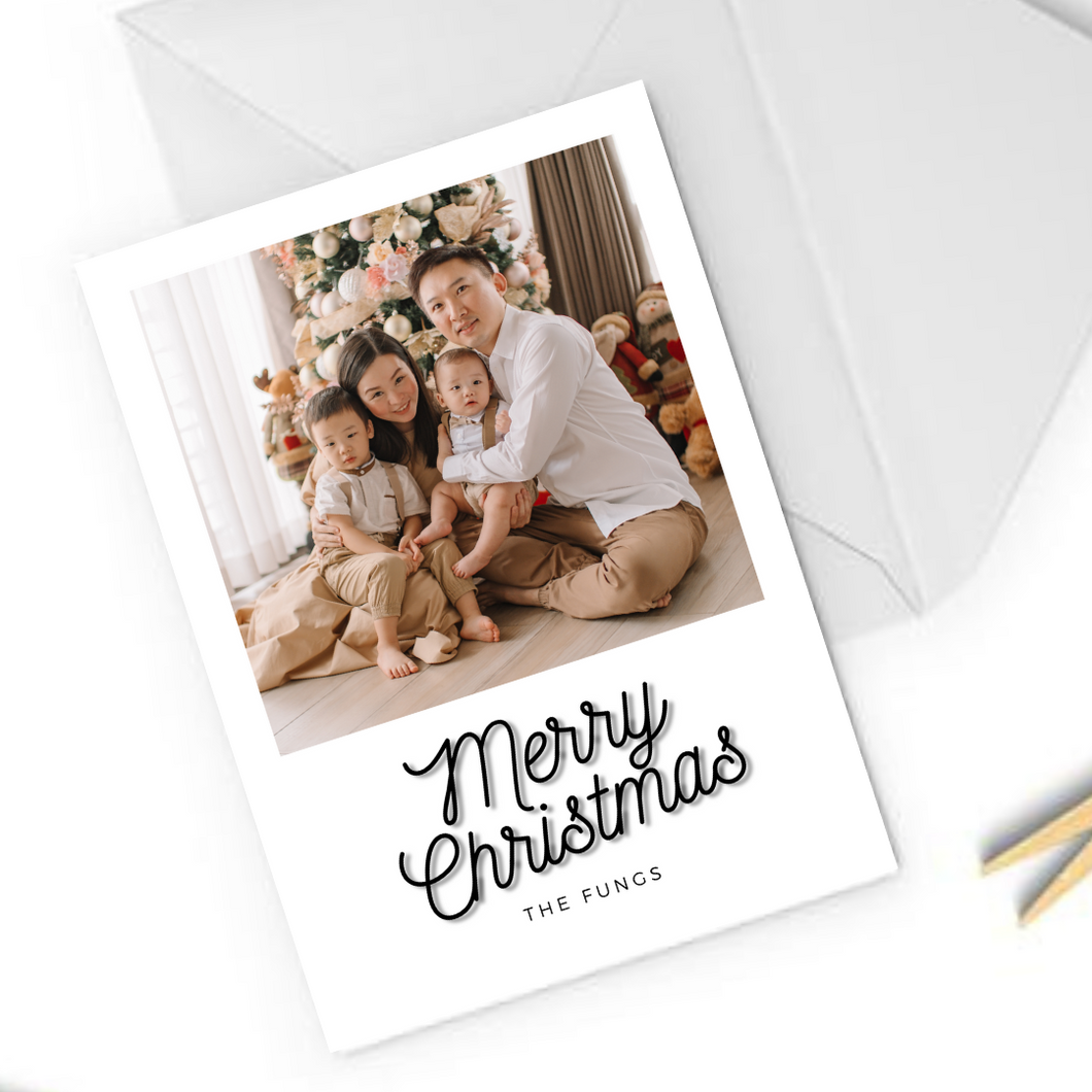 Portrait Christmas Card 20-02