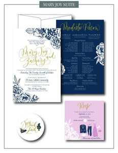 Mary Joy Collection Suite - ink scribbler
