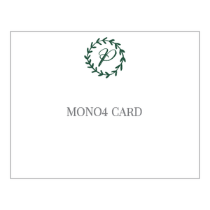 Mono4 Notecards