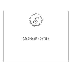 Mono6 Notecards - ink scribbler