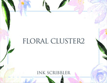 Load image into Gallery viewer, FloralCluster2 Notecards