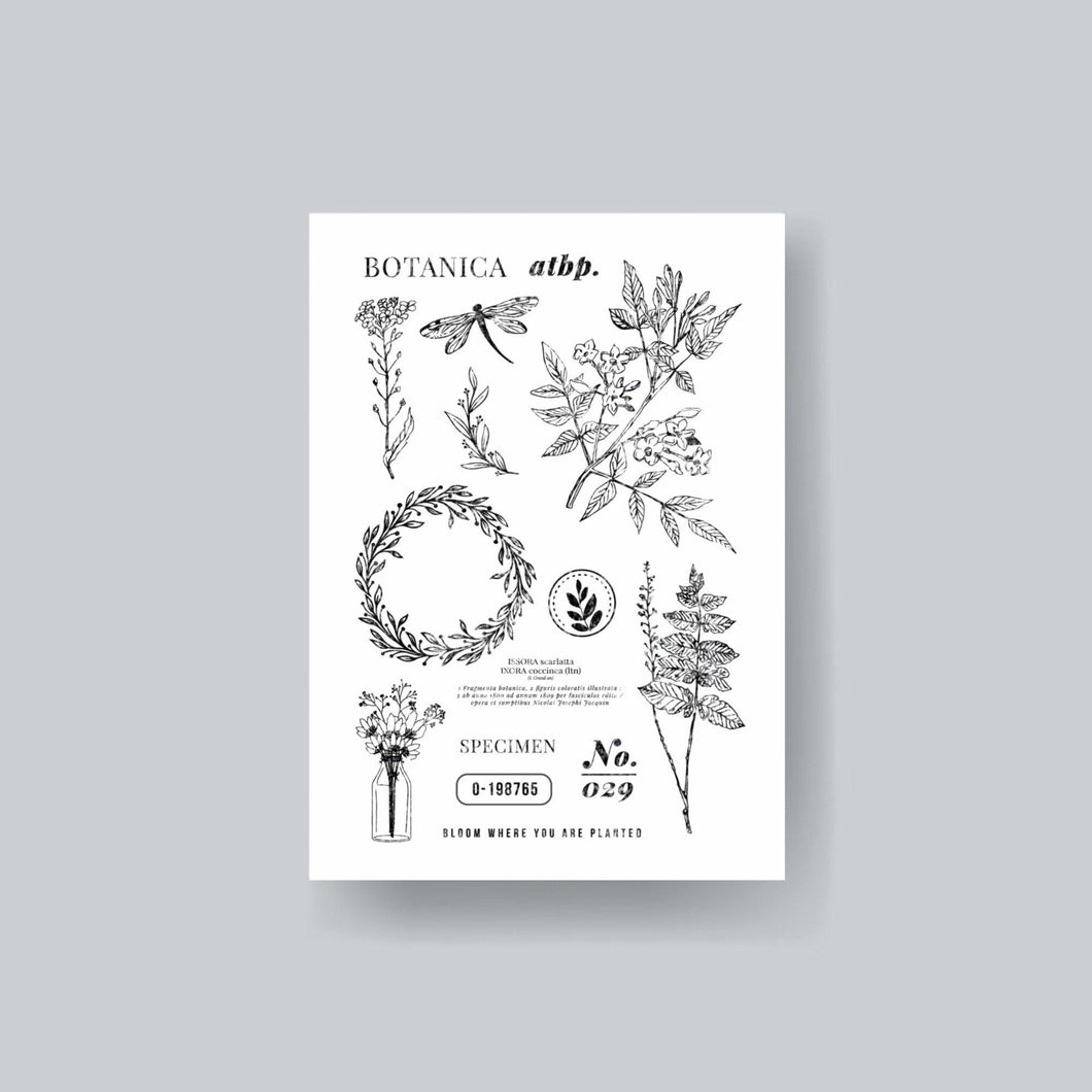 Botanica Atbp. Clear Stamp