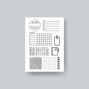 Get Organized Clear Stamp
