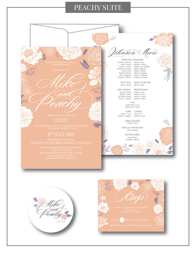 Peachy Collection Suite