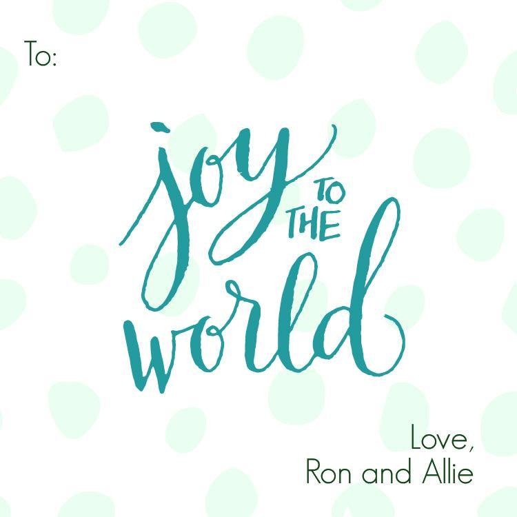 Joy to the World (Square)