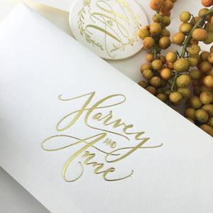 Wedding Logo - ink scribbler