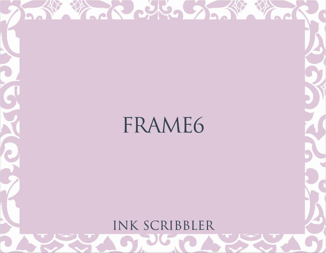 Frame6 Notecards