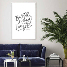 Load image into Gallery viewer, Psalm 46:10 Downloadable Print