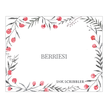 Berries1 Notecards