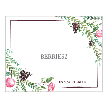 Berries2 Notecards