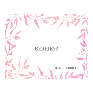 Berries3 Notecards