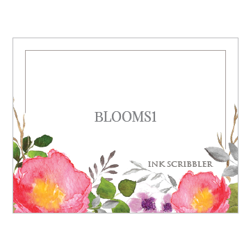 Blooms1 Notecards