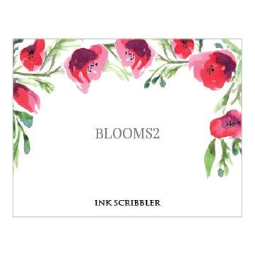 Blooms2 Notecards