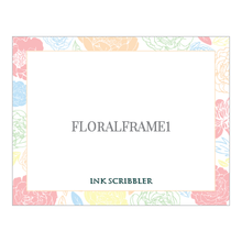 Load image into Gallery viewer, FloralFrame1 Notecards