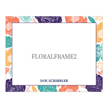 Load image into Gallery viewer, FloralFrame2 Notecards